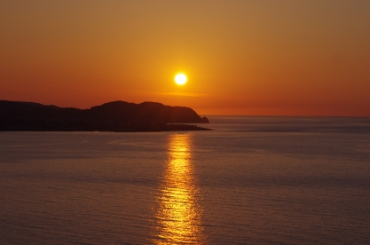 Sunset over Little Orme